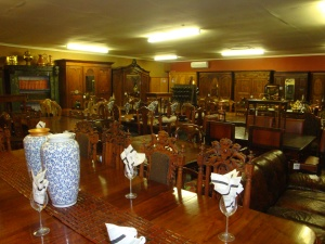 One of the very many rooms at the antique shop, Buy & Barter.