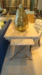 Loved this Nicholas Haslam trestle table.