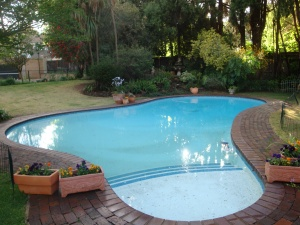 The pool we have now.  Probably build sometime in the 70ties.