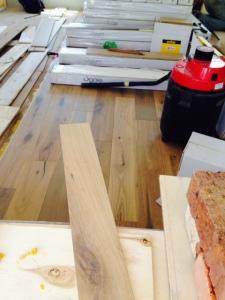 Flooring looking good.