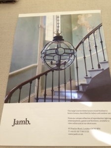 Globe lantern Jamb stairwell