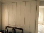 Dressing room north wall