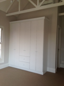 2nd bedroom cupboards.