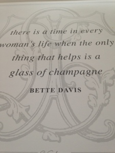 moving champagne quote